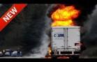 Accidents spectaculaires de camions