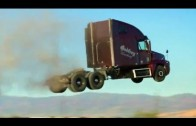 Can trucks fly? Stunt – Jump Compilation of trucks