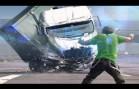 Les accidents de voiture drastiques en 2014 la compilation 21+ caméra de voiture