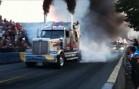 st-joseph de beauce- tire de camion bobtail et chargé