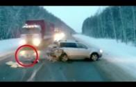 Un enfant miraculé après un accident de la route en Russie