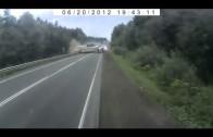 Camion sans freins