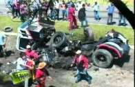 Accident in Formula Truck