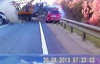 Vidéo de l'explosion de la citerne sur le NJ Turpike par une dashcam!