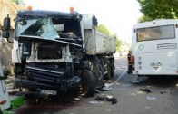 Compilation d'accident de camion
