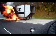 Un camion flambe sur la 70 dans l'Illinois…