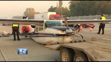 Un petit avion atteri d'urgence sur l'Interstate 84 en Idaho!
