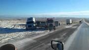Des images du Wyoming datant du 11 novembre 2015 sur l'Interstate 80