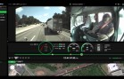 La dashcam film l'inattention d'un chauffeur de camion