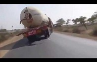 Driving In India – Truck Accident