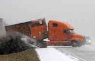 30 Most Shocking Truck Crashes Winter 2014