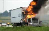MOST BRUTAL TRUCK CRASHES 2013