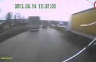 Accident de camion en 2014 un accident, camions, les camionneurs plus fort.