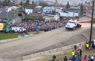 Un record mondial de saut pour un camion
