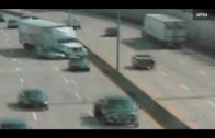 Accident de la route Dallas Accidente Remorque