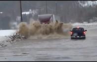 Camion vs innondation