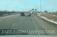 Chauffeur utilise son expérience afin d'éviter un accident avec un autre camion