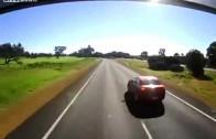 Il ne connait pas les distances adéquates pour dépasser un camion
