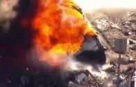 Vidéo de l'accident du 7 octobre 2015 sur le New Jersey Turnpike, un camionneur perd la vie